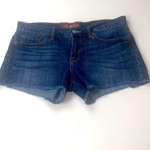 Lucky Brand Riley Denim Jean Cutoff Shorts Size 6